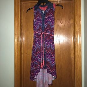 Emily West high-low dress, girls size 10
